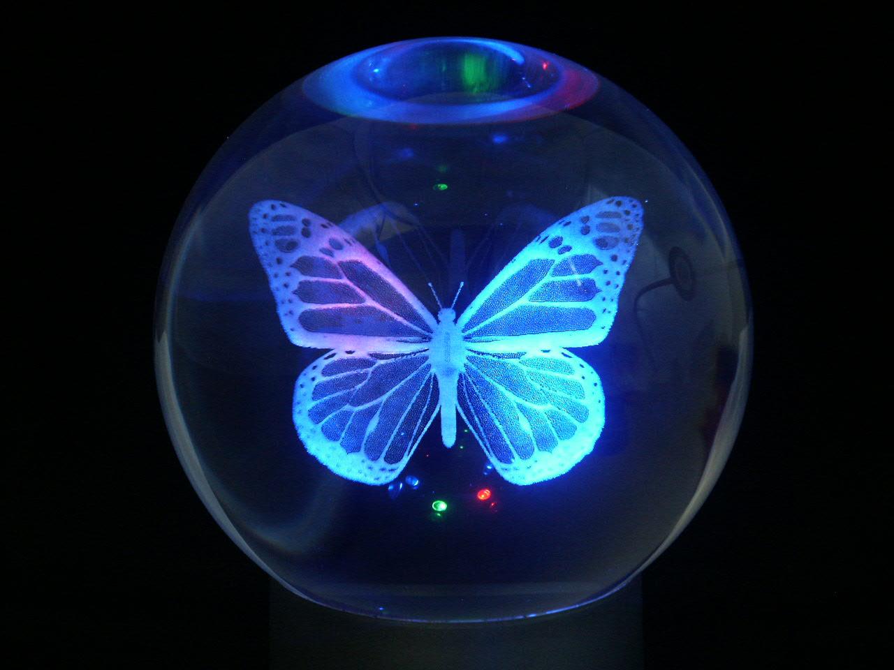 Motýl v křišťálové kouli