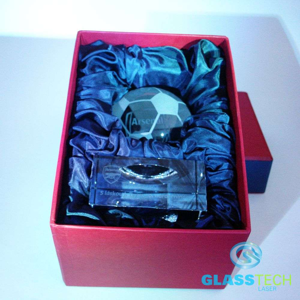 Trophy in custom Box