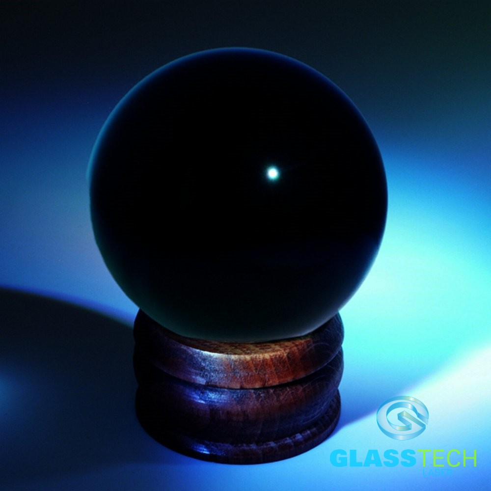 Crystal ball black