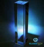 Glass block 60 x 60 x 250 mm