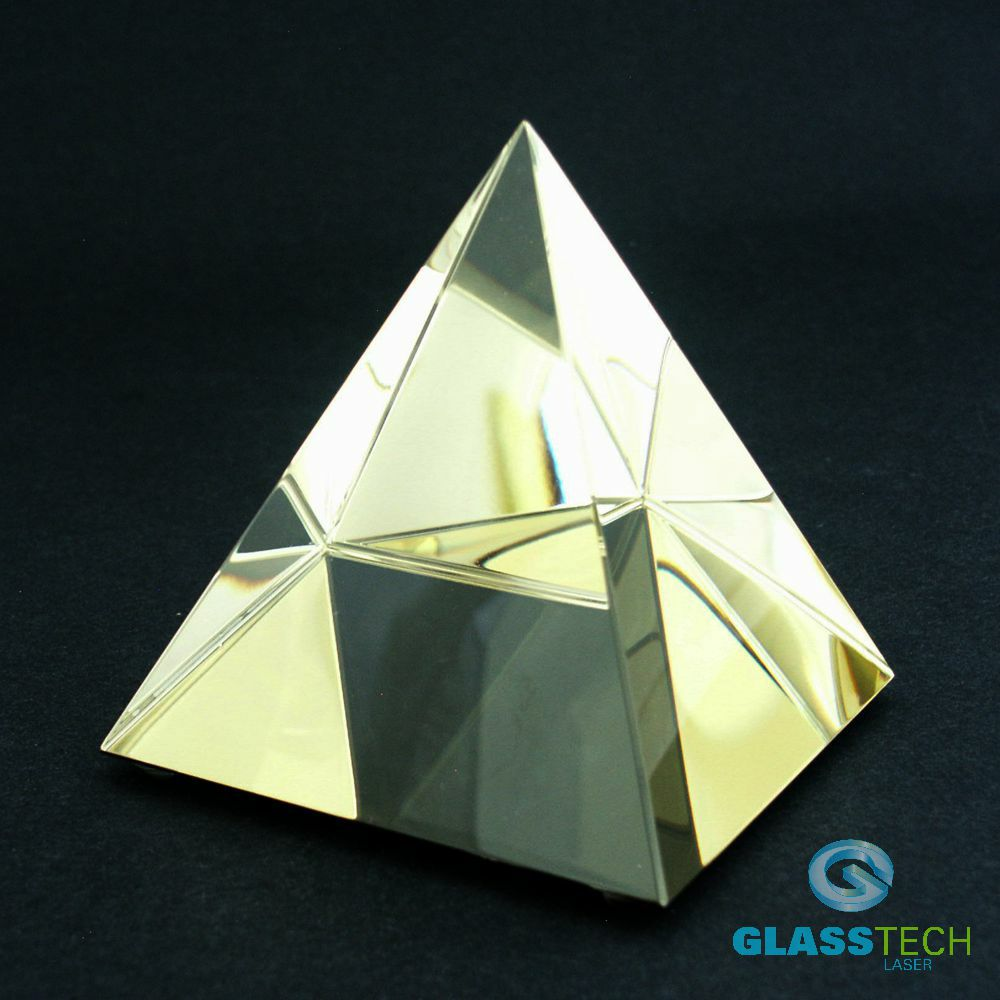 Golden pyramid 60 mm