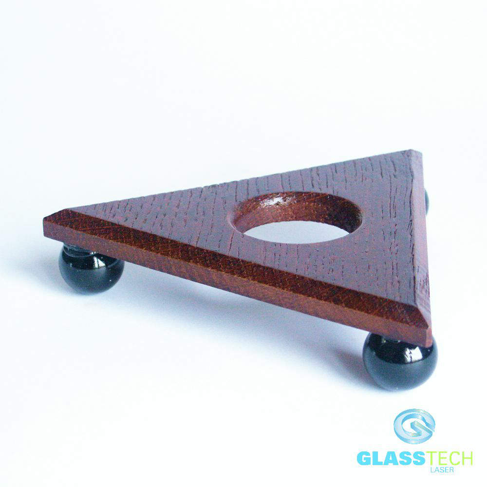 Wooden stand-triangle