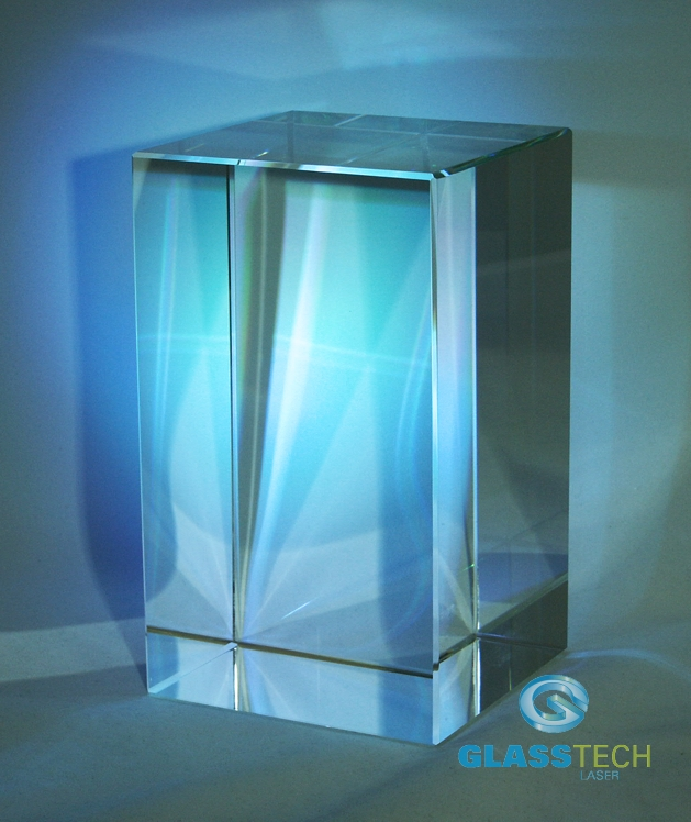 Glass block 120 x 120 x 200 mm