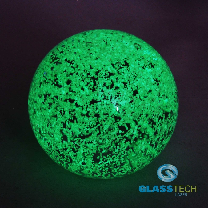 GLOW IN THE DARK ball - 70 mm