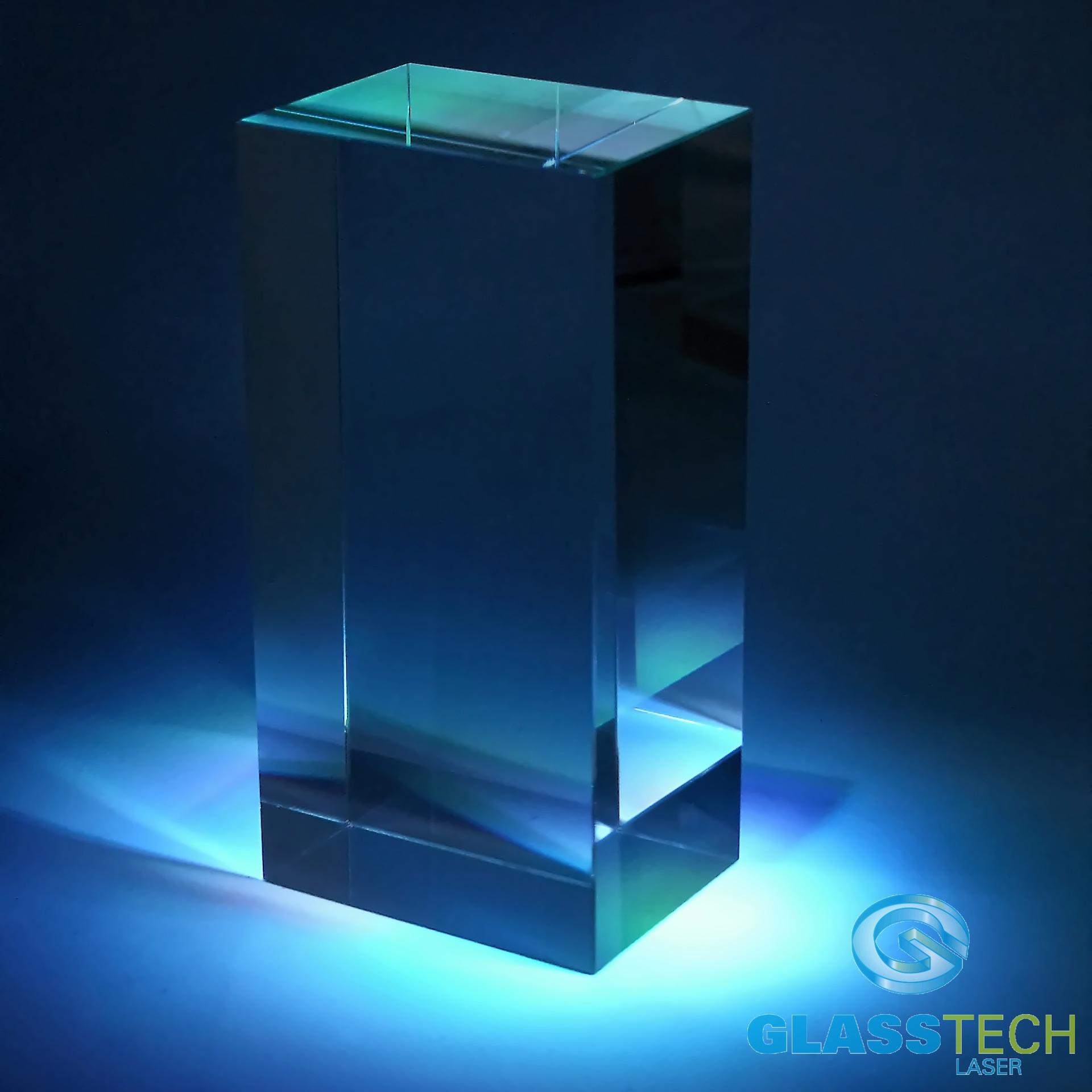 Glass block glass vases glass block 50x50x80 mm for Acrylic block windows
