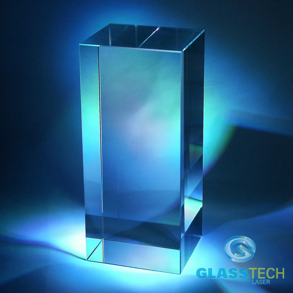 Glass block 80x60x160