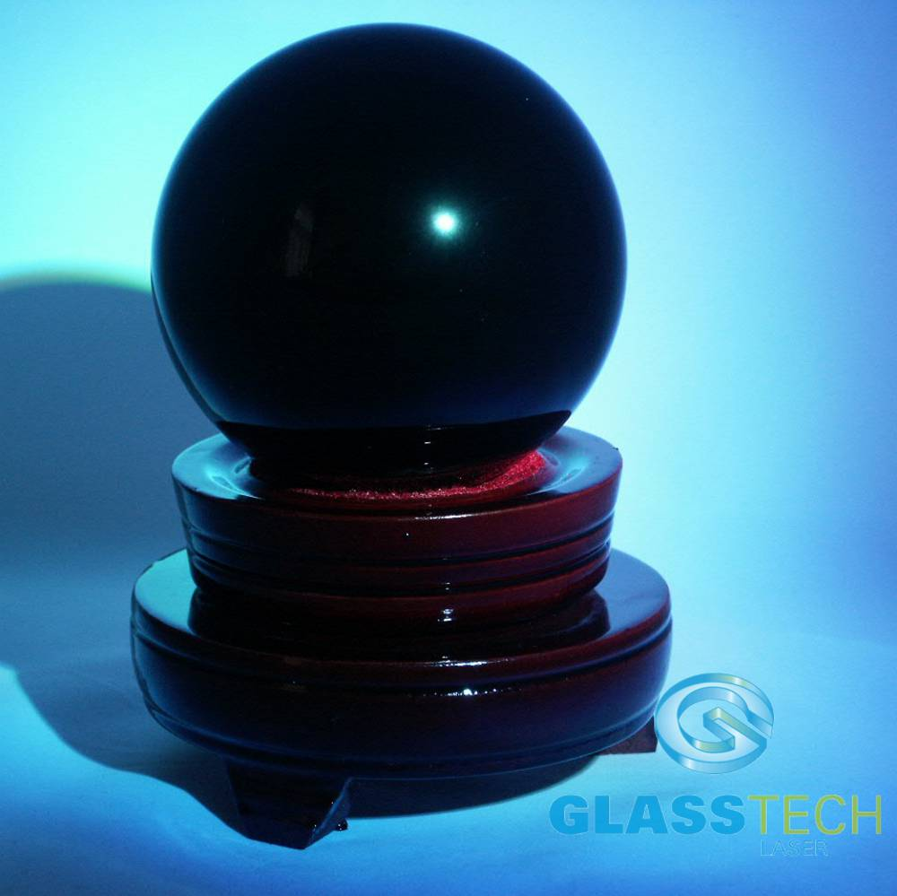 Divination black ball 80 mm with the stand-ACTION!!!