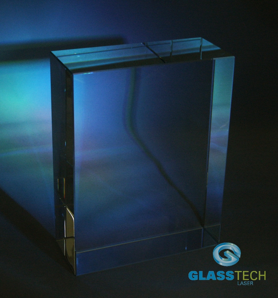 Glass block 160 x 70 x 210 mm
