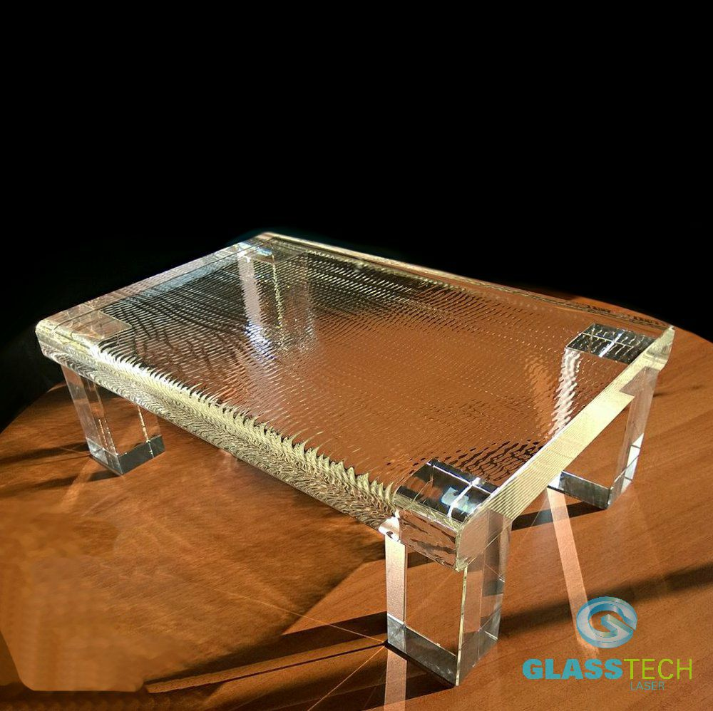Glass table DELUXE
