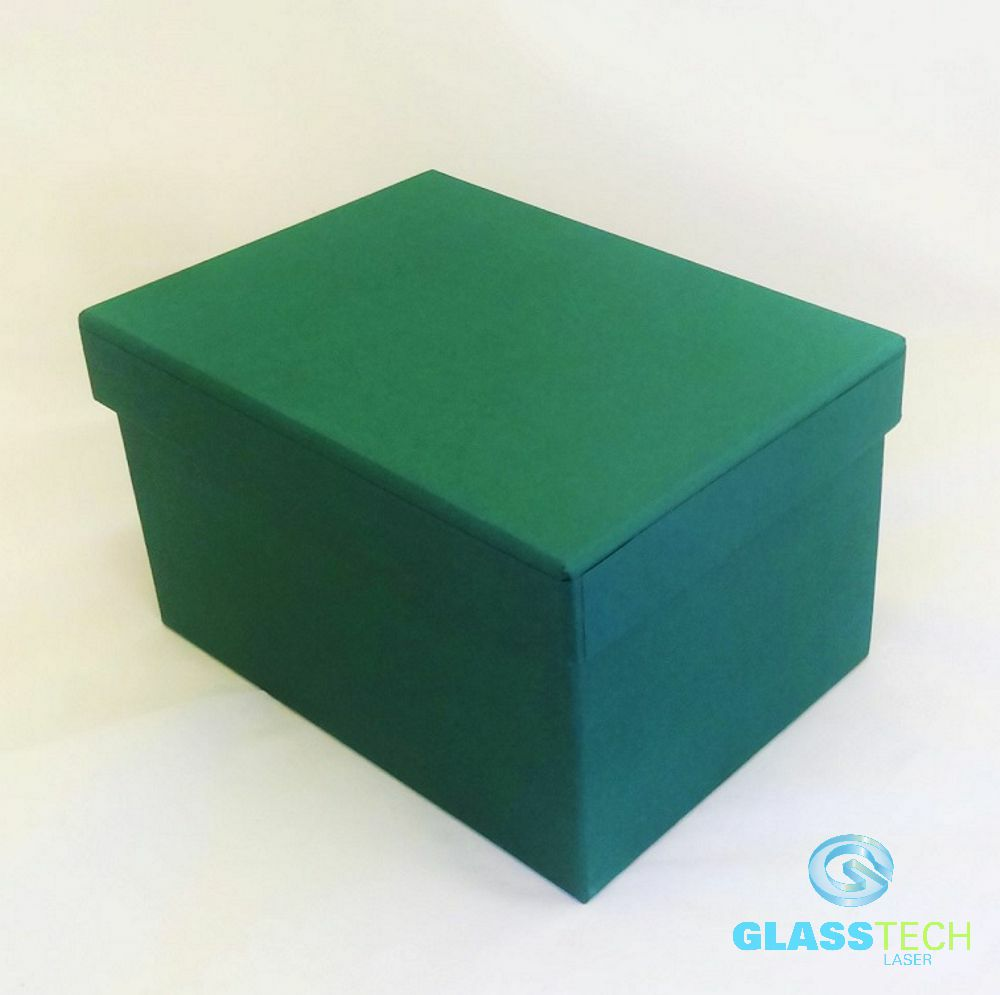 Green gift box L, for ball 100 mm and base