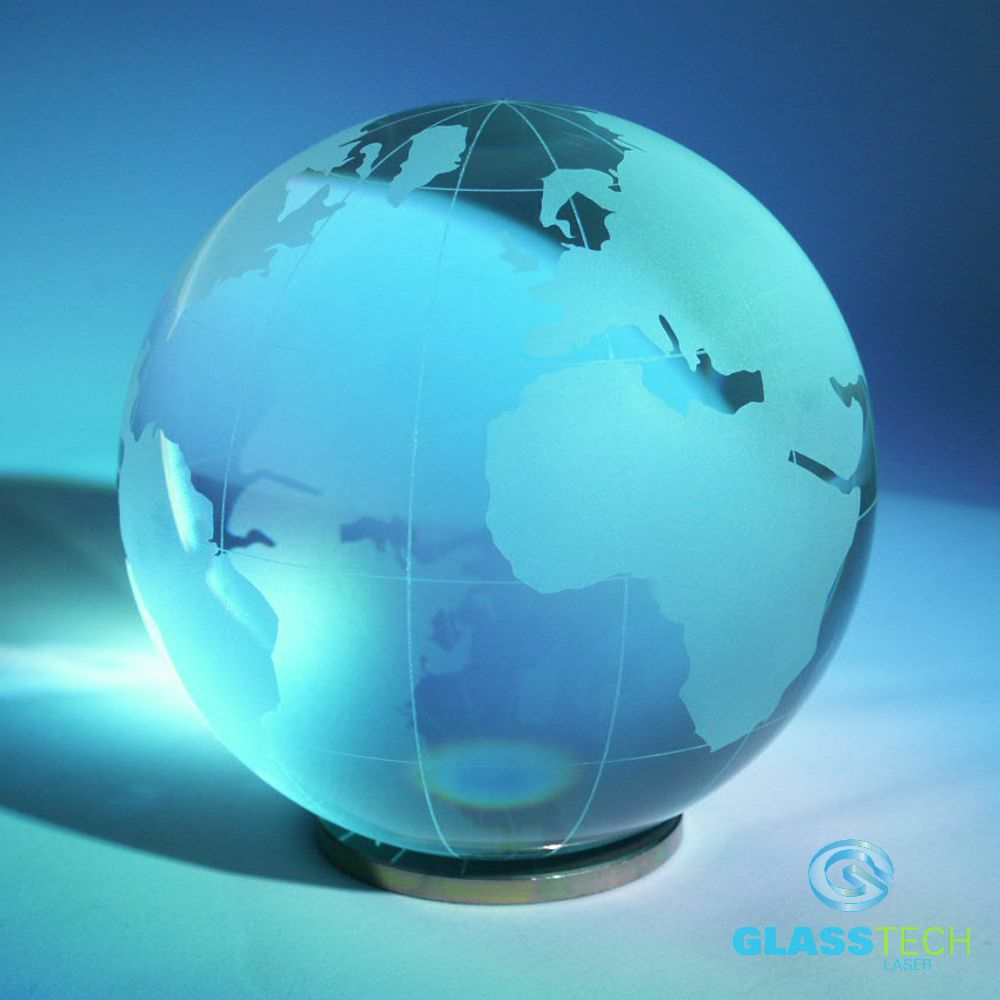 crystal globe  80 mm