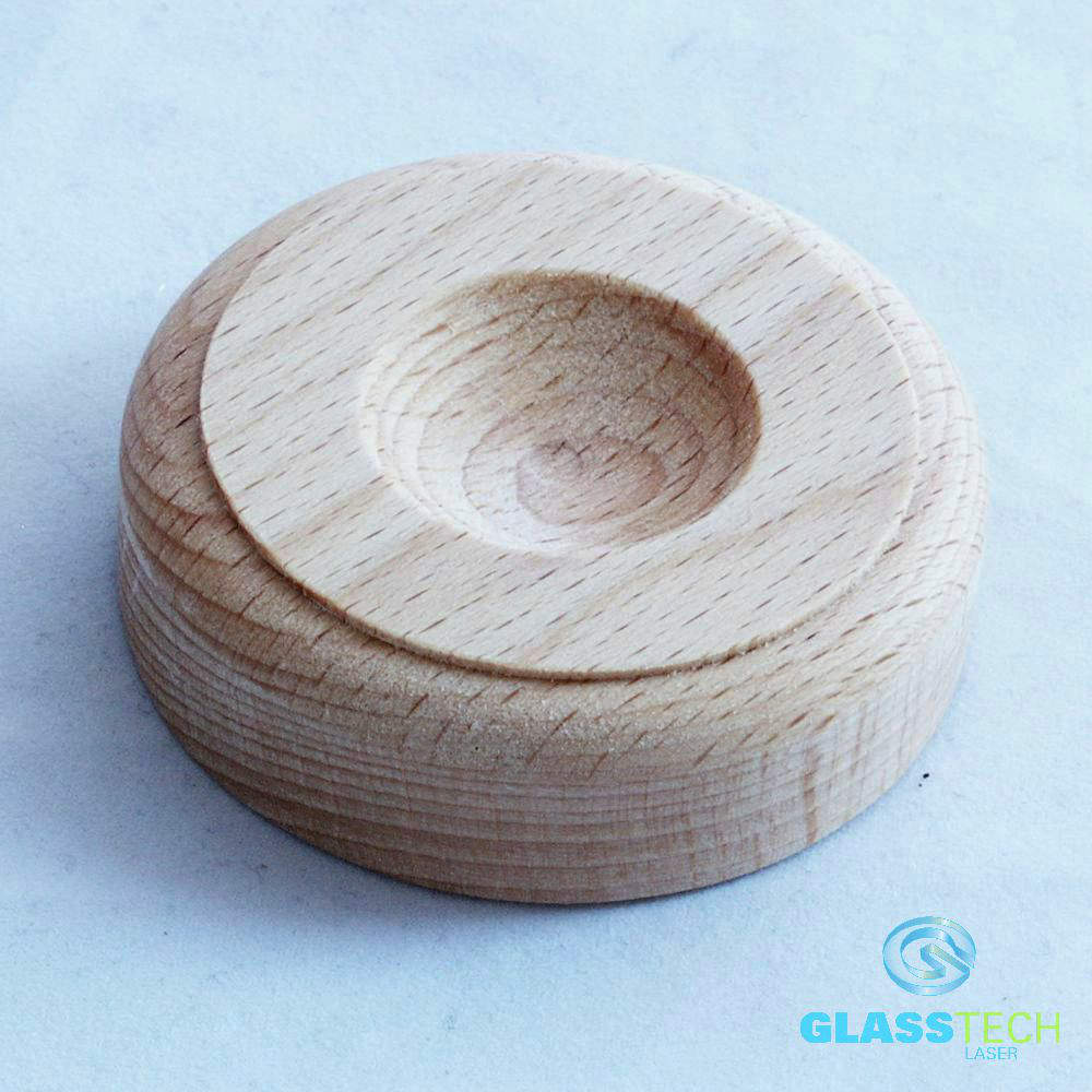 Wooden stand bright 70 mm