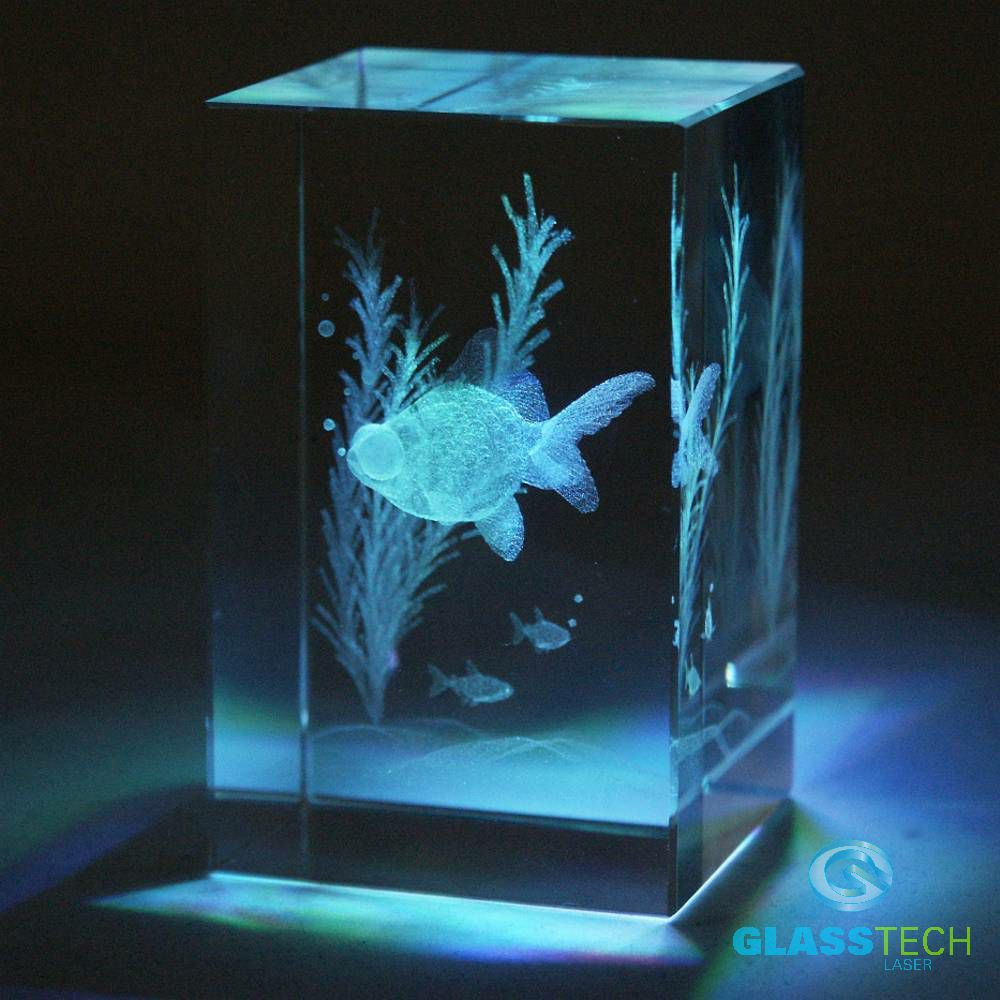 3D fish-glass block 50 x 50 x 80 mm