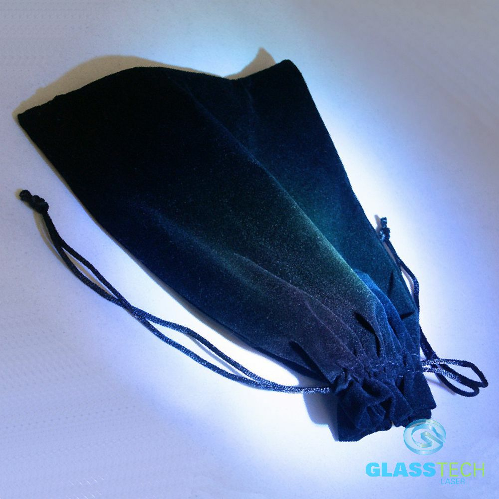black velvet bag - big