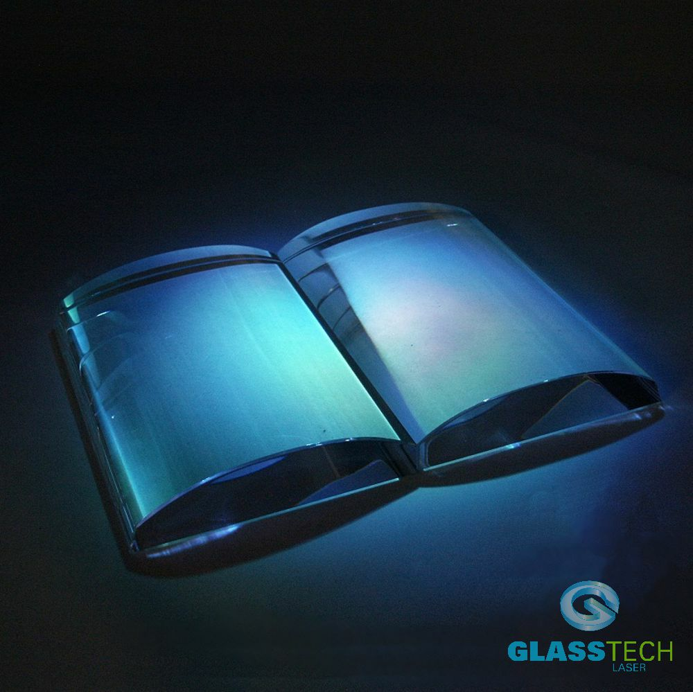 Glass book small