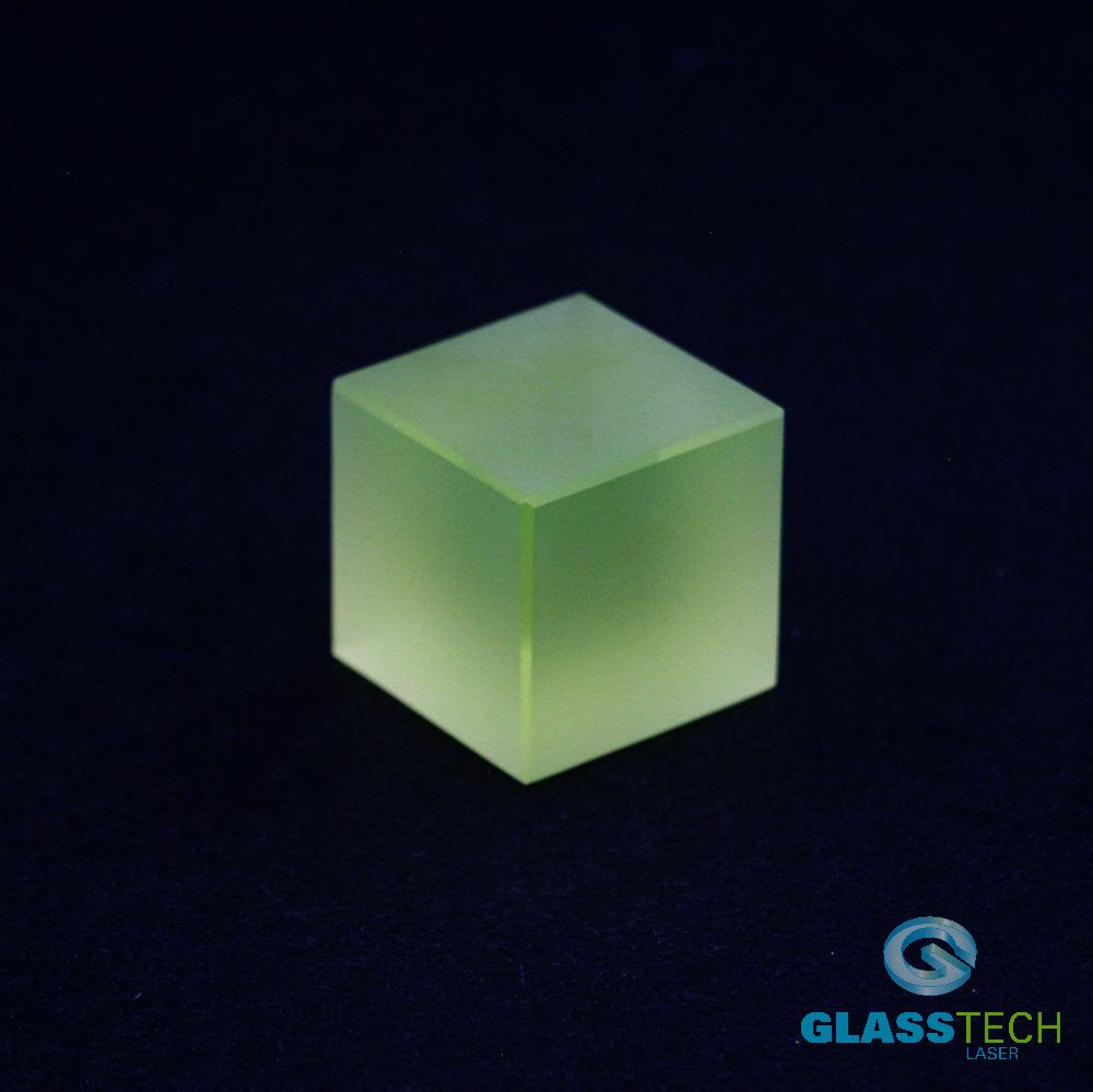 uranium cube matt - 25x25x25 mm
