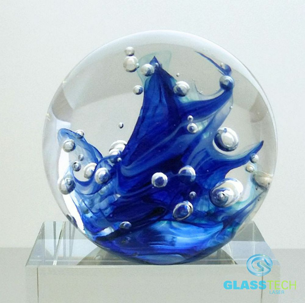 Paperweight Sea wave 90 mm