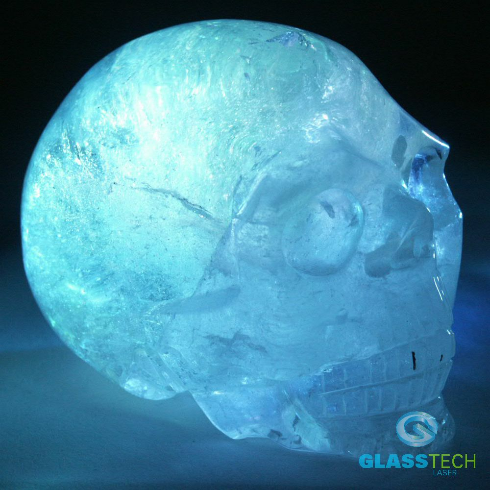 Skull Nature crystal 110x80x90 mm