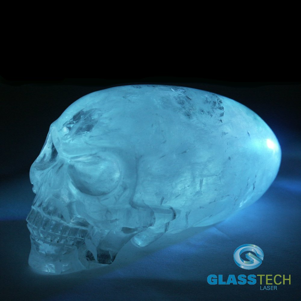 Skull Nature crystal 160 x 70 x 80 mm