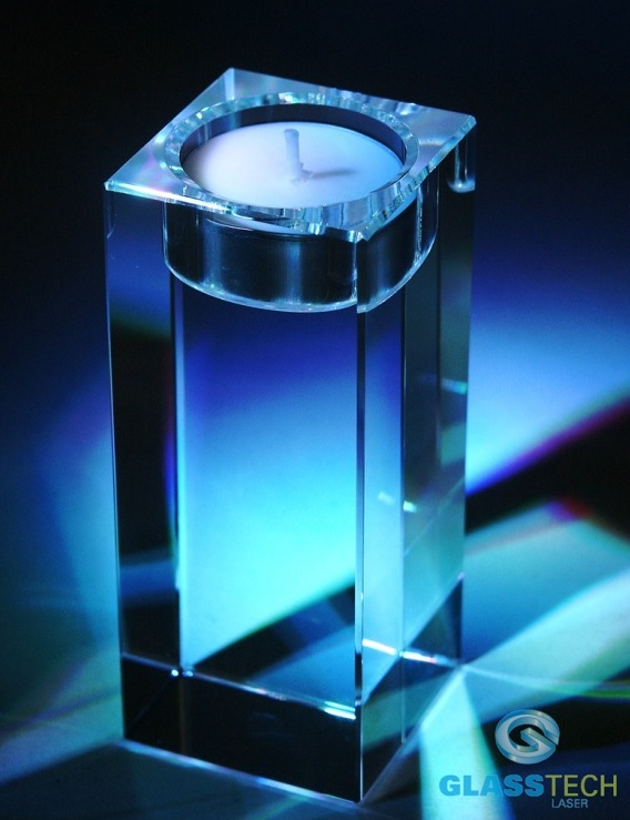 Crystal  candlestick 120x50x50mm