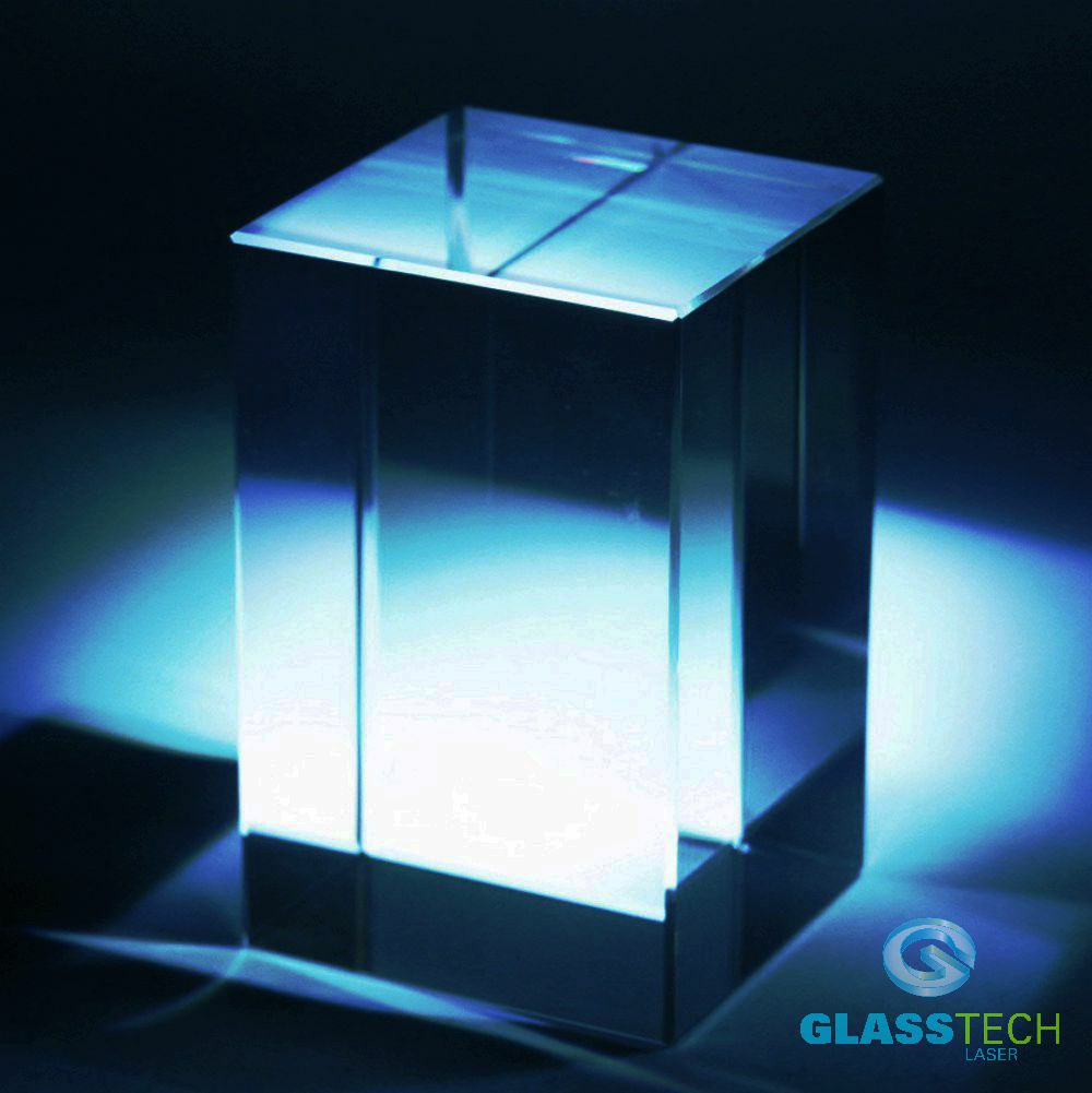 Glass block 50 x 50 x 80 mm